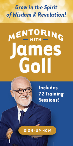 Mentoring with James Goll - Join Now